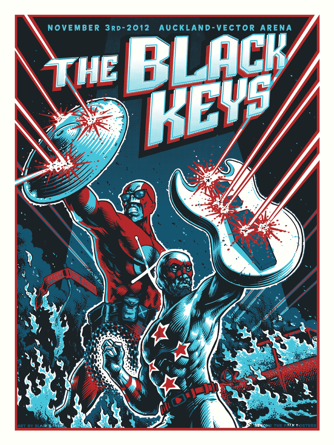 A Whole Bunch Of The Black Keys From Beyond The Pale
