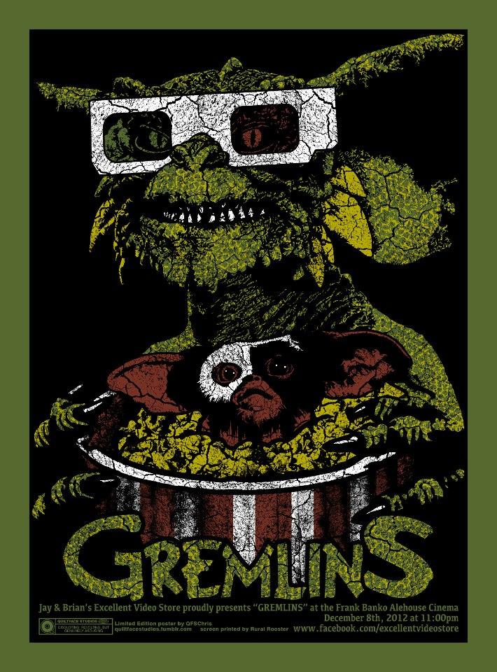 garofalo gremlins dark green