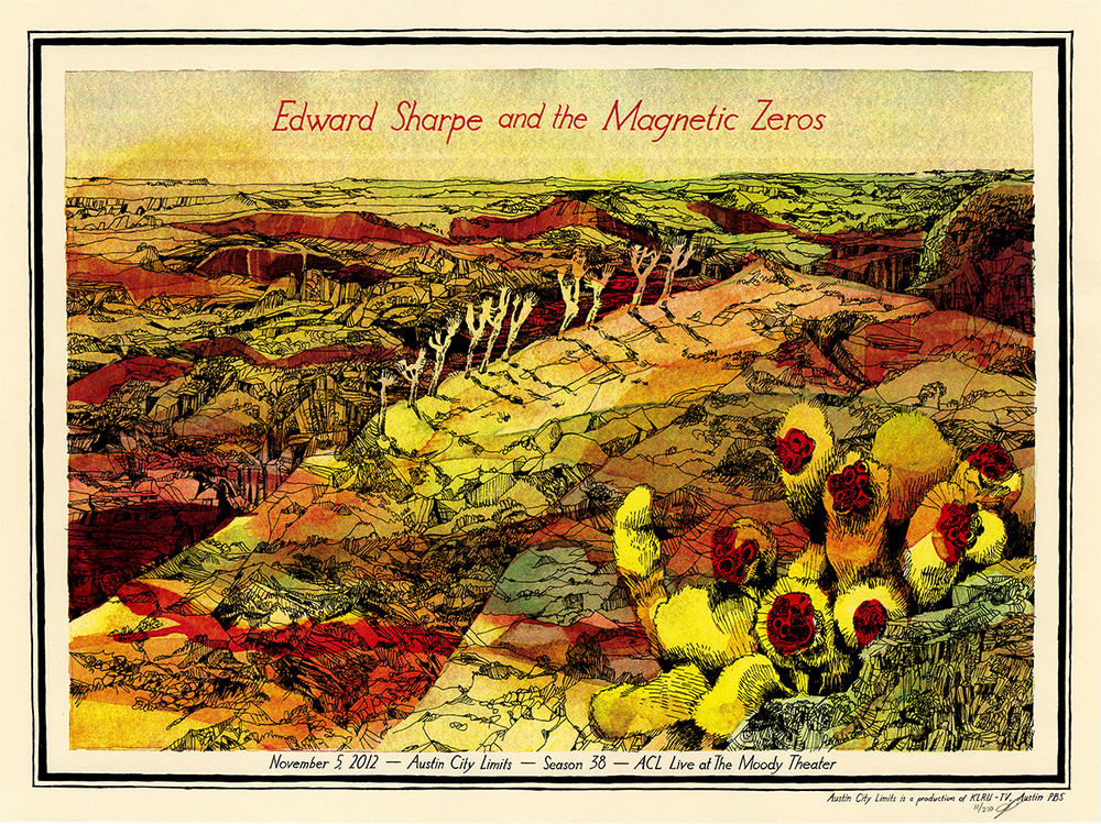 landland Edward Sharpe & the Magnetic Zeros austin tx 2012