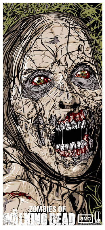 miller bicycle girl the walking dead
