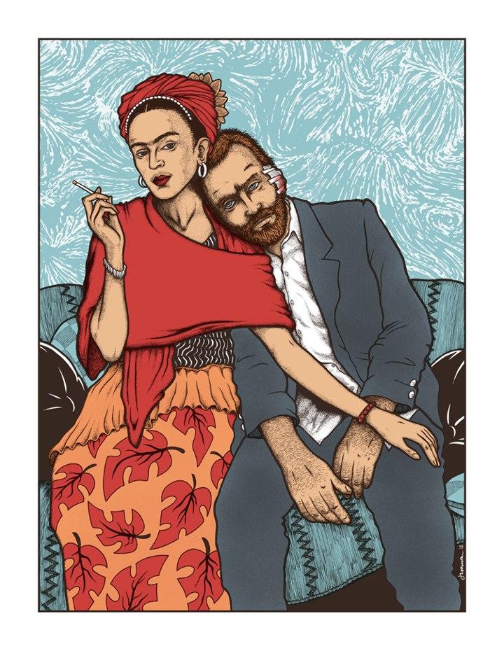 rogers Frida y Vincente