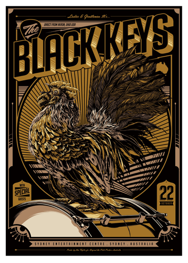 taylor the black keys sydney australia 2012 variant