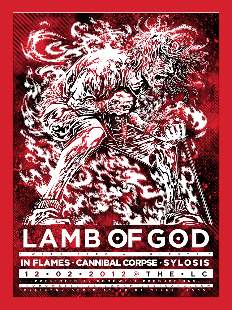 tsang Lamb of God, Columbus OH 2012