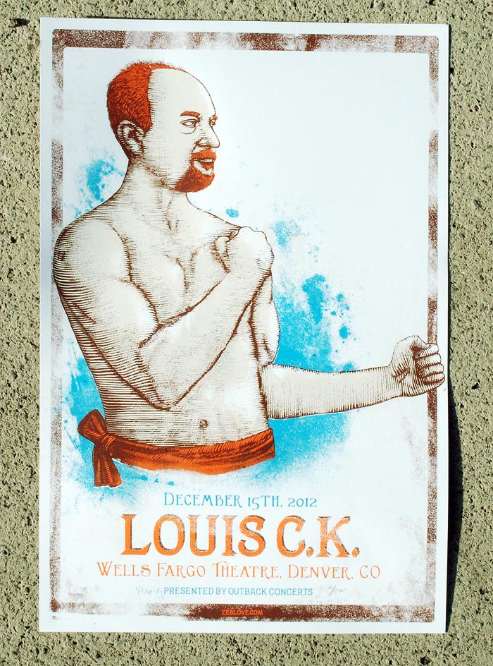 zeb love Louis C.K. - Denver, CO 2012