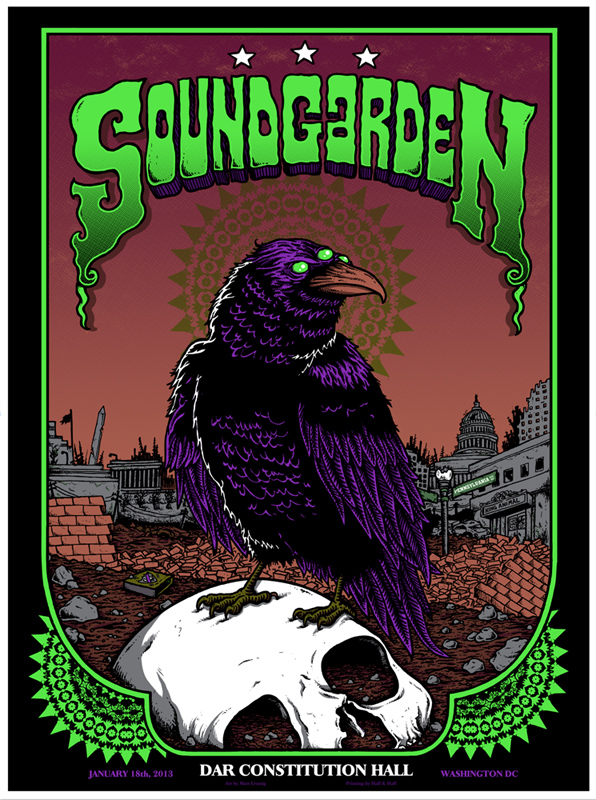 leunig Soundgarden - Washington DC 2013