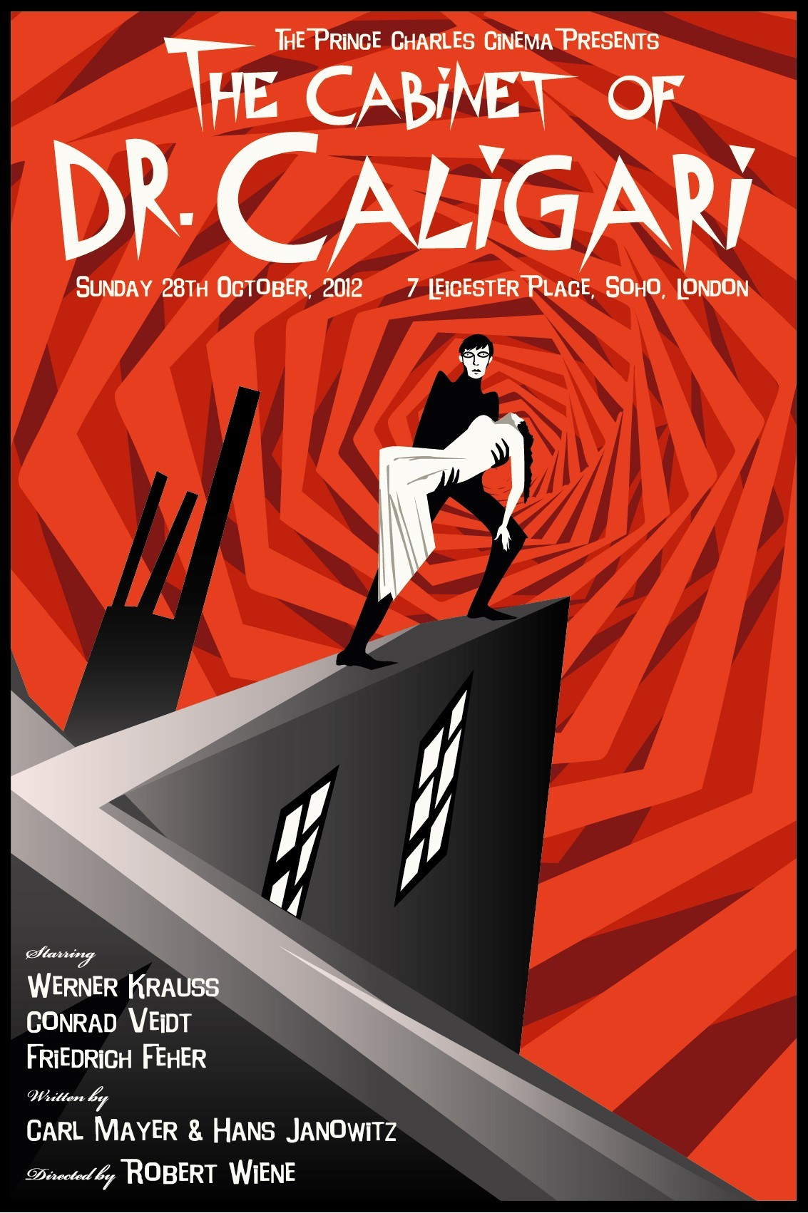 The cabinet of dr caligari 411posters - The cabinet of dr caligari 1920 full movie ...