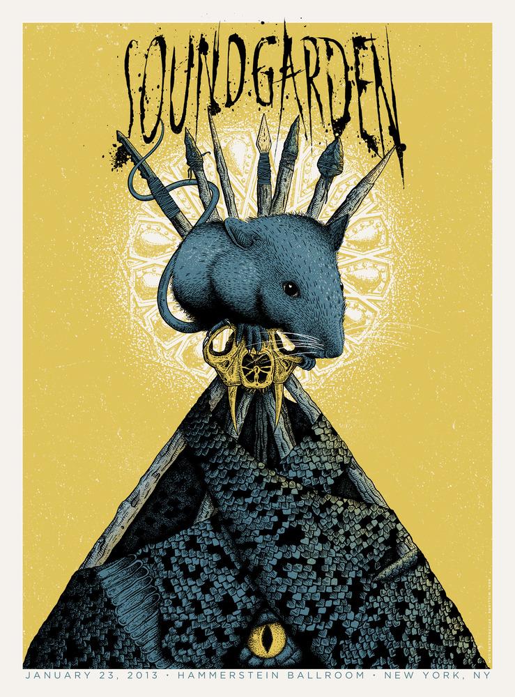 williams Soundgarden - New York, NY 2013