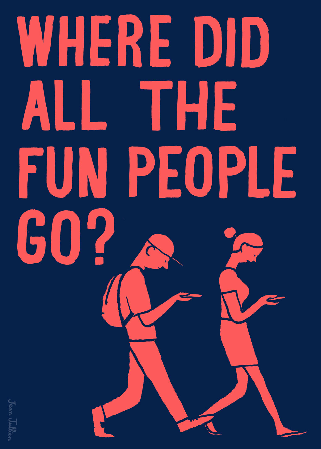 Did People Actually Wear These Things: Jean Jullien