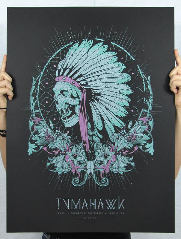 anonymous ink idea Tomahawk - Seattle, WA 2013