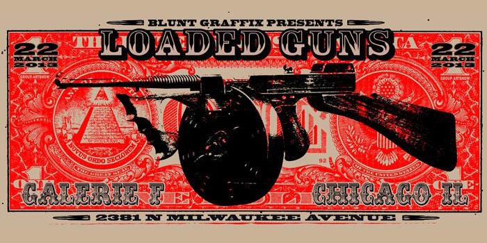 blunt graffix galerie f loaded guns