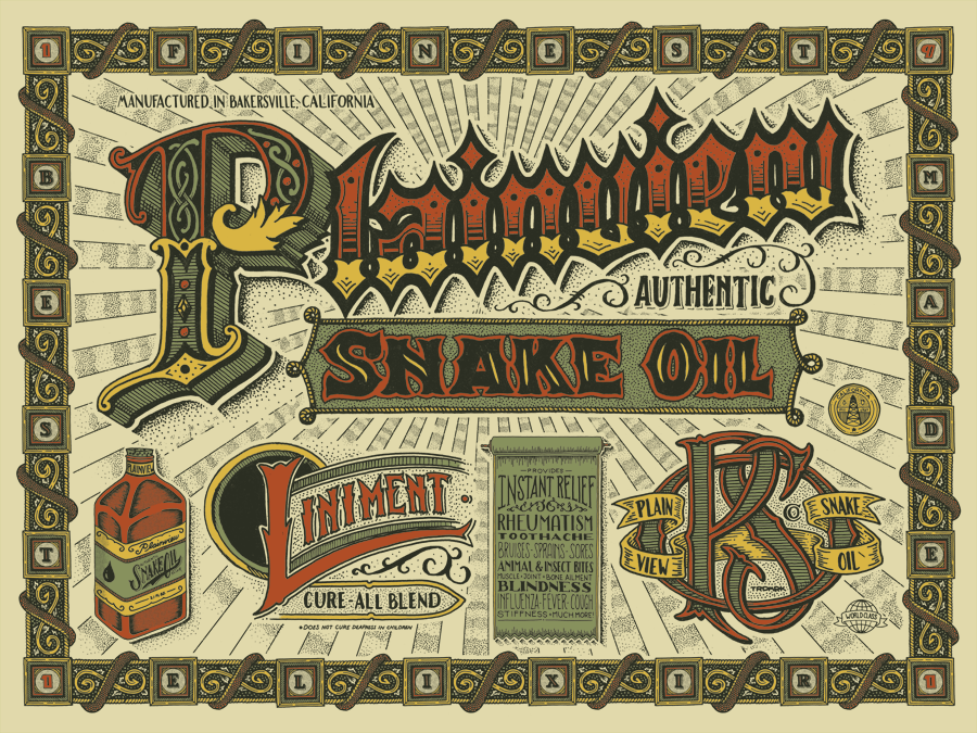 carne There Will be Snake Oil