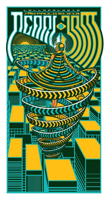 klausen Pearl Jam - Sao Paulo 2013
