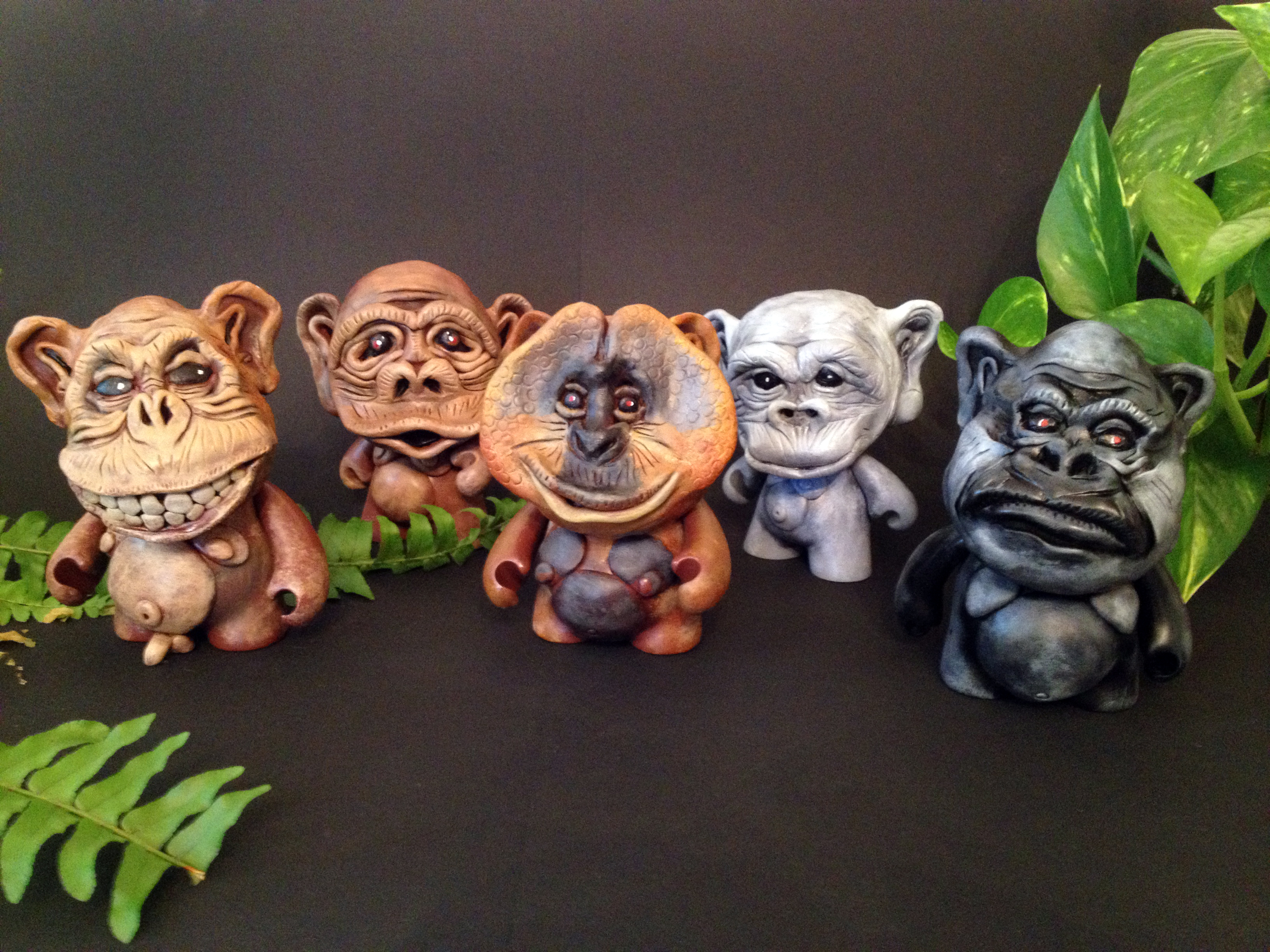 mr. prvrt Intelligent Apes Toy Series