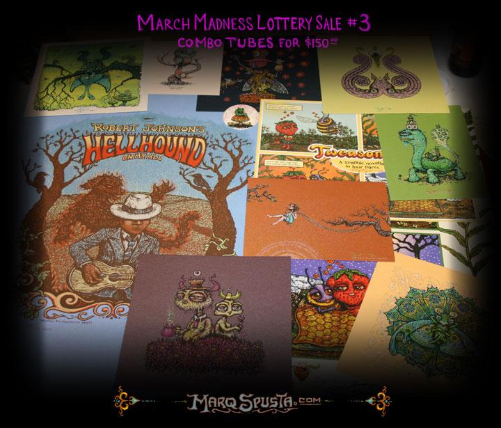 spusta March Madness Lottery Sale #3