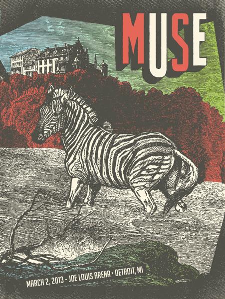 status serigraph muse detroit MI 2013