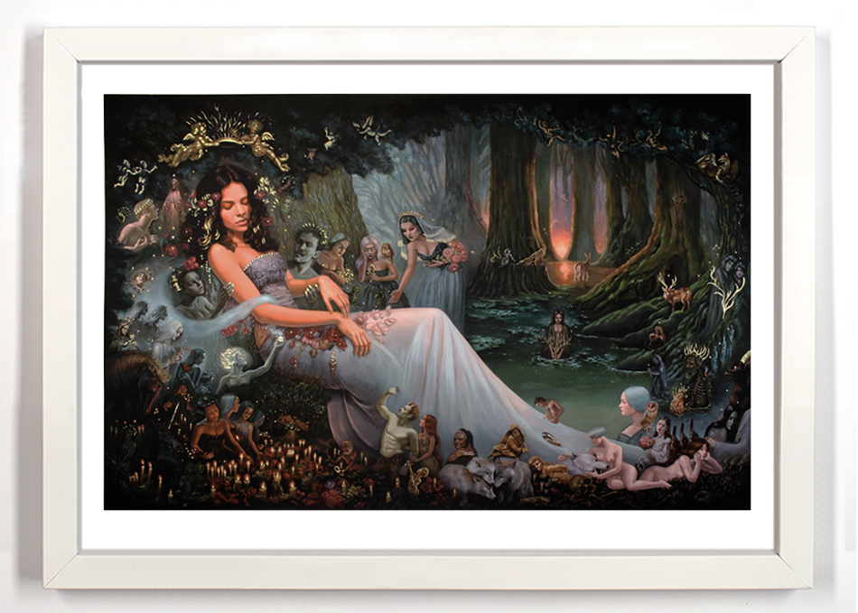 araujo Death Of A Forest hand embellished