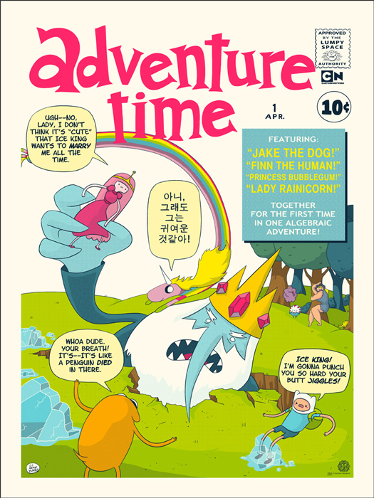 harrison Adventure Time Finntastic Four