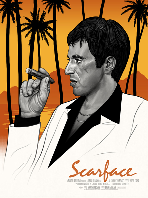 mitchell scarface variant