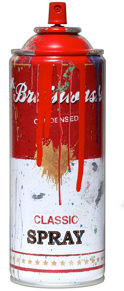 Spray Can By Mr Brainwash 411posters