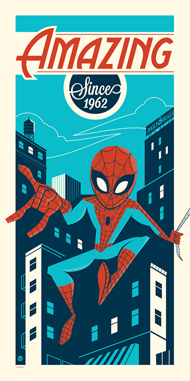 perillo Amazing Since 1962 spiderman