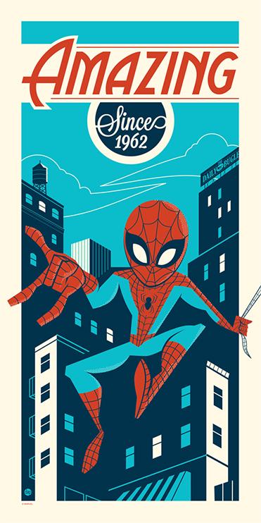 perillo Amazing Since 1962 spiderman