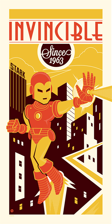 perillo Invincible Since 1963 iron man