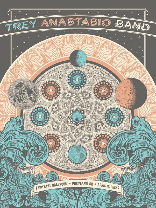 status-serigraph-Trey-Anastasio-Band-Portland-OR-2013