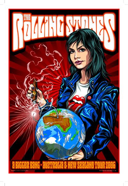 taylor The Rolling Stones - Australian Tour 2006
