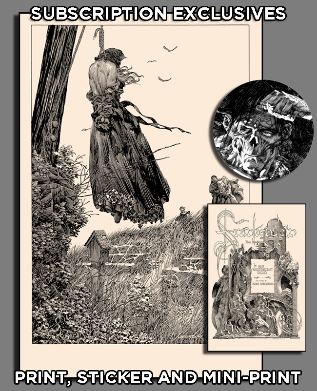 Bernie Wrightson PRINT SUBSCRIPTIONS 1