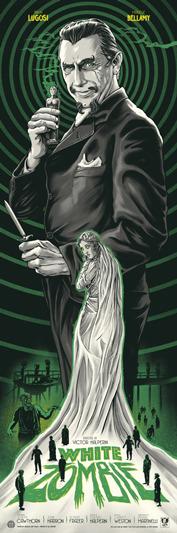 Ghoulish Gary Pullin white zombie