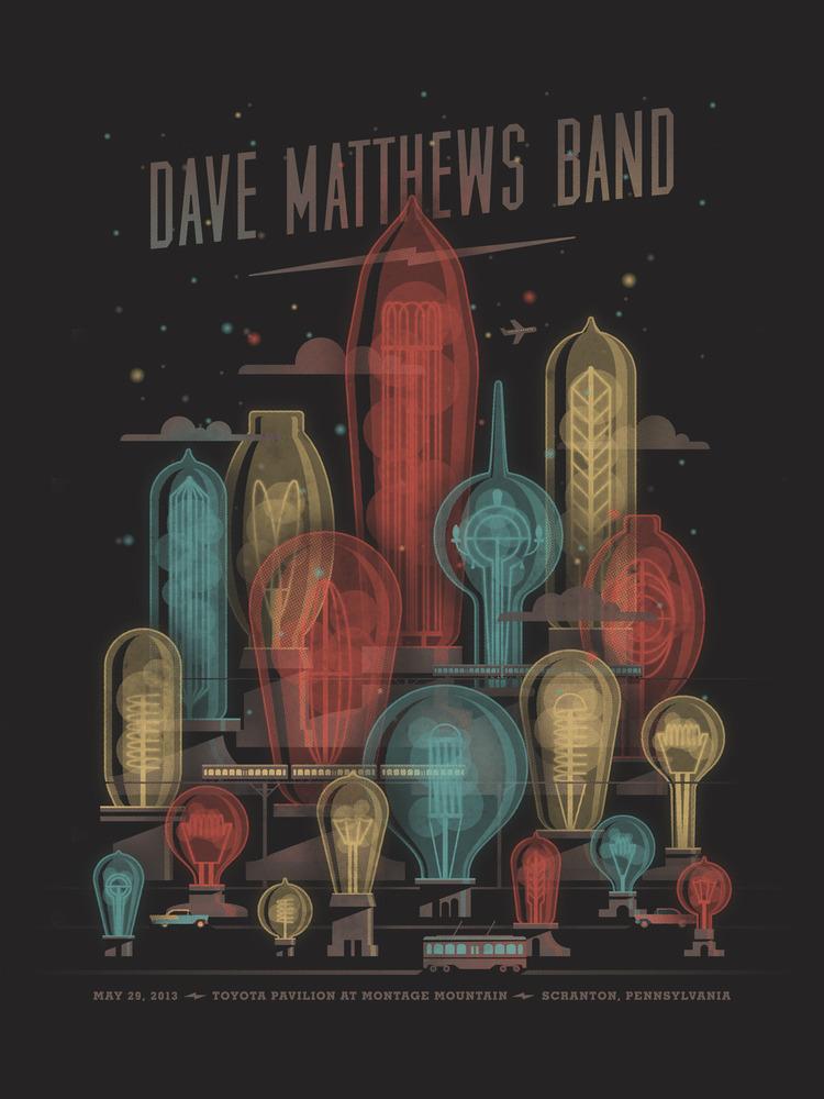 dkng Dave Matthews Band - Scranton, PA 2013