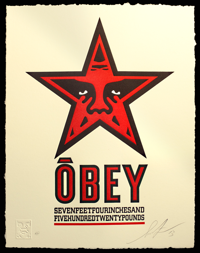 fairey obey star
