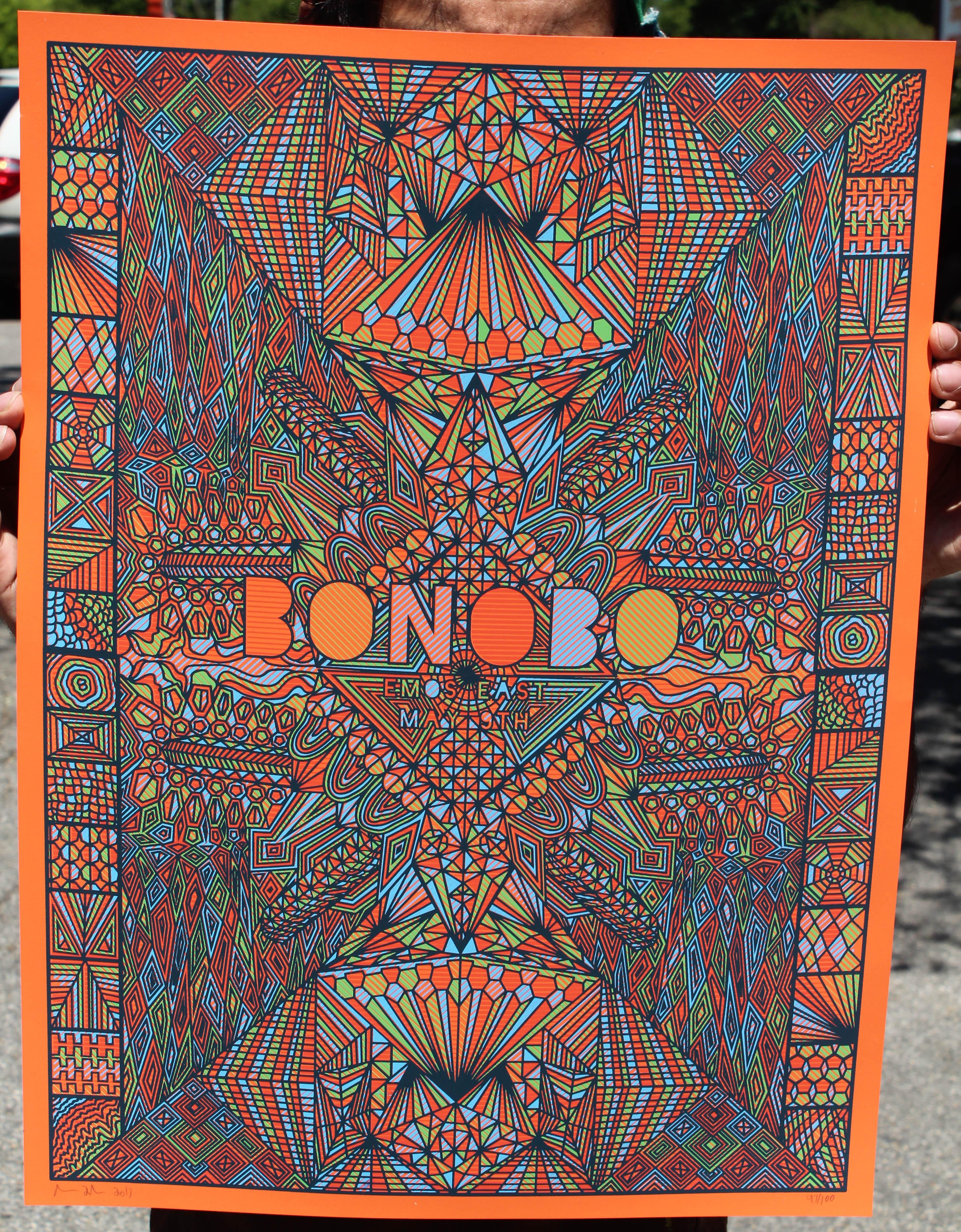 Color printing austin - Fuchs Bonobo Austin Tx 2013