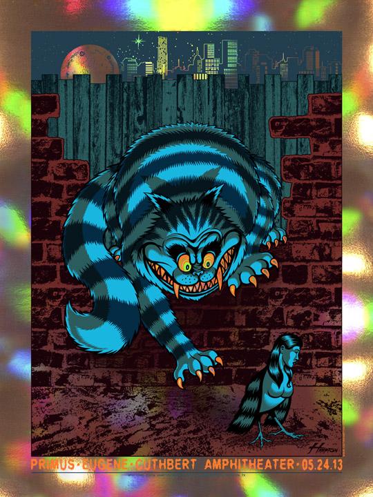 hampton primus eugene or 2013 holographic foil variant