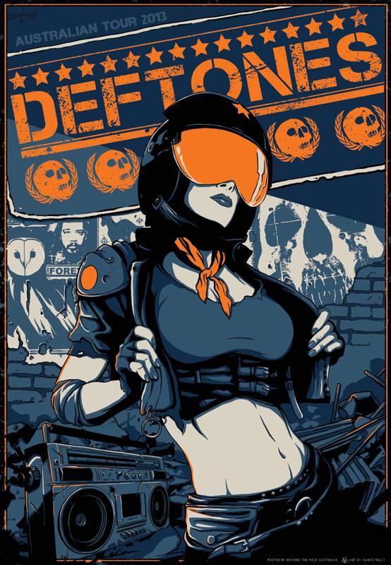 kelly Deftones - Australian Tour 2013