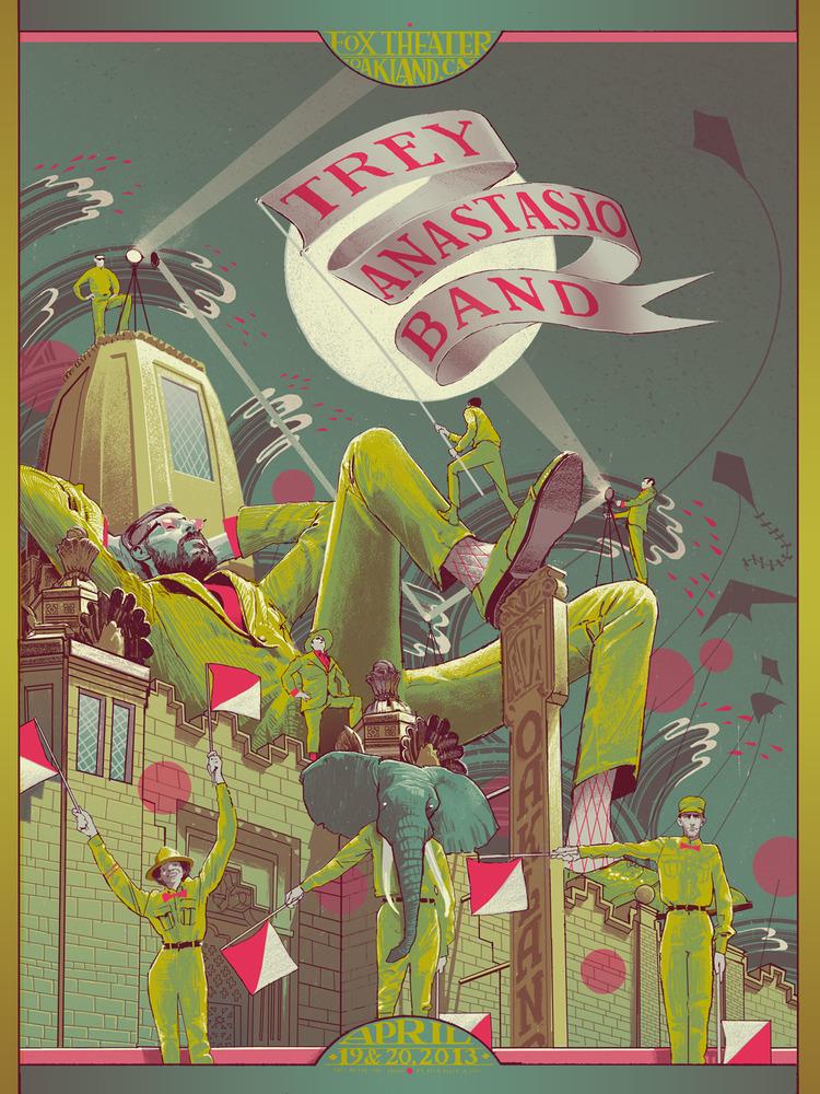 kelly Trey Anastasio Band - Oakland, CA 2013