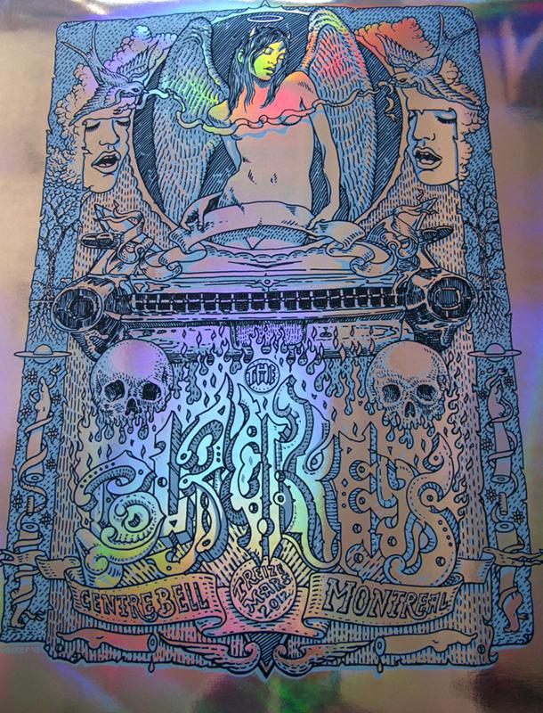 welker the black keys montreal 2012 foil