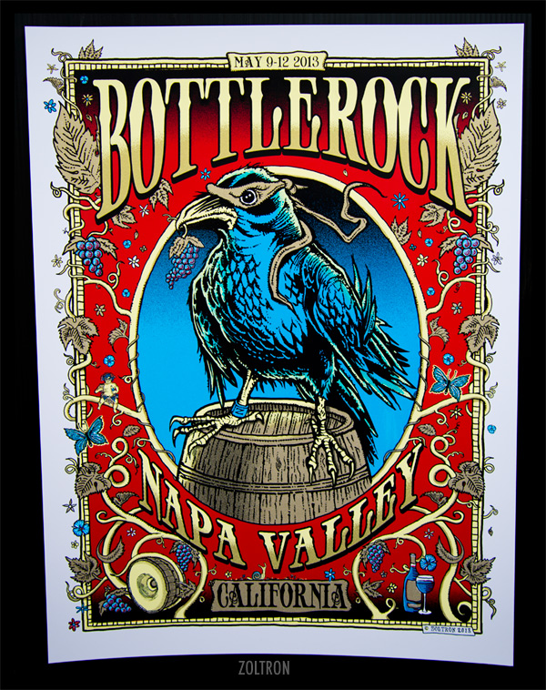 zoltron Bottlerock - Napa Valley, CA 2013
