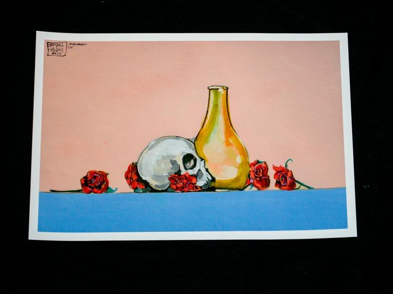 Apodaca Skull Still Life