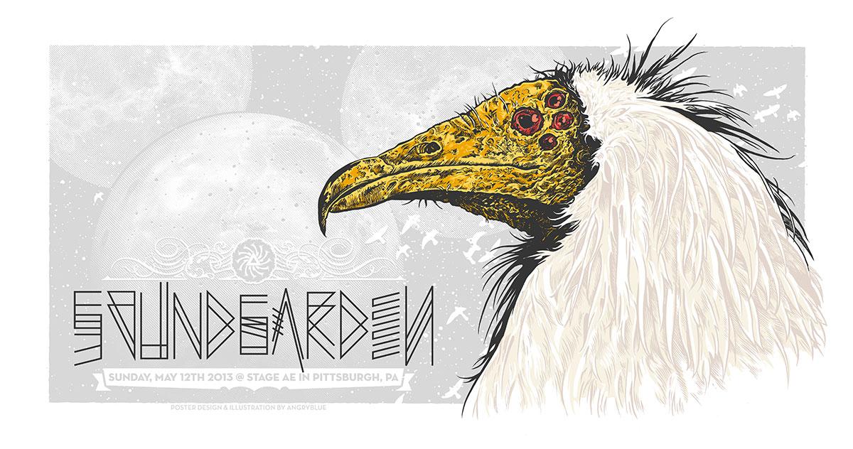 angryblue soundgarden pittsburgh pa 2013