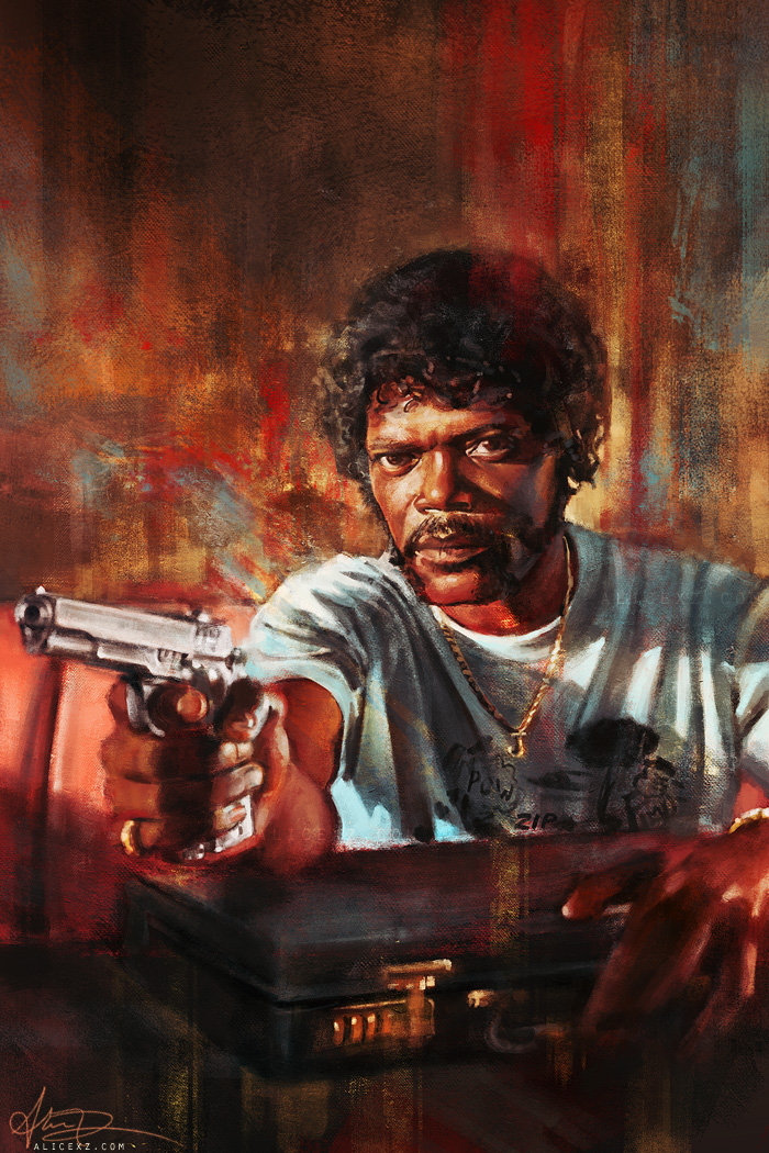 bottleneck gallery Alice X. Zhang moments pulp fiction