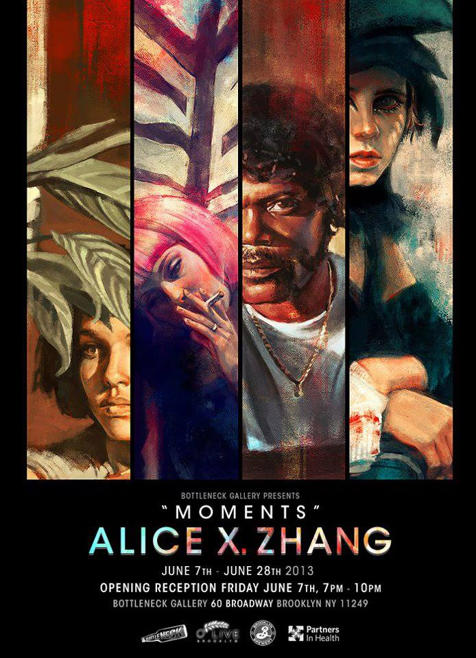 bottleneck gallery Alice X. Zhang moments