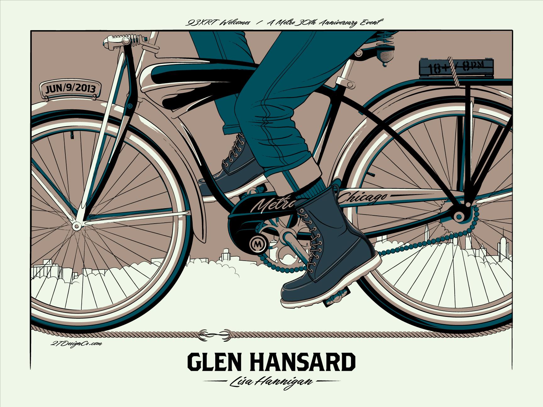 crisler Glen Hansard - Chicago, IL 2013