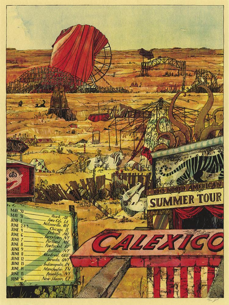 landland Calexico North American Tour 2013