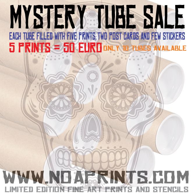 noa prints mystery tube