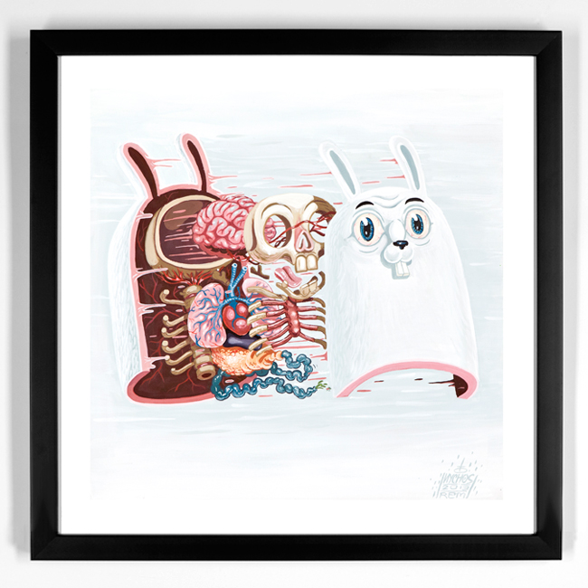 nychos Dissection Of The White Rabbit