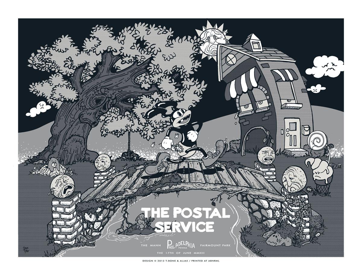 tbone aljax the postal service philadelphia pa 2013 variant