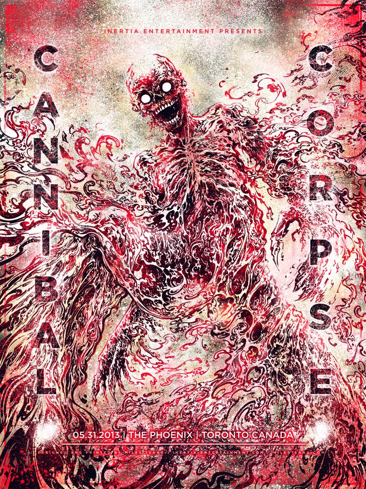 tsang Cannibal Corpse - Toronto, Ontario 2013