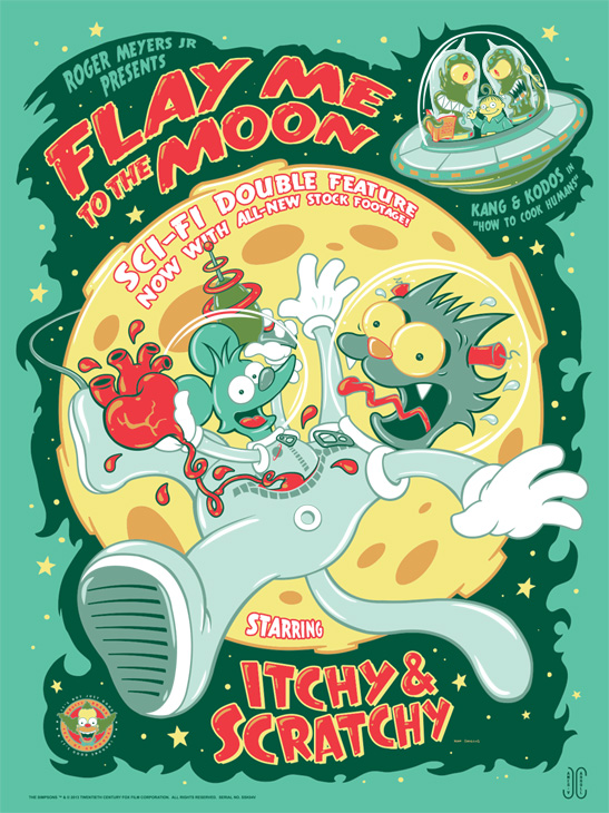 Carroll Flay Me to the Moon Variant