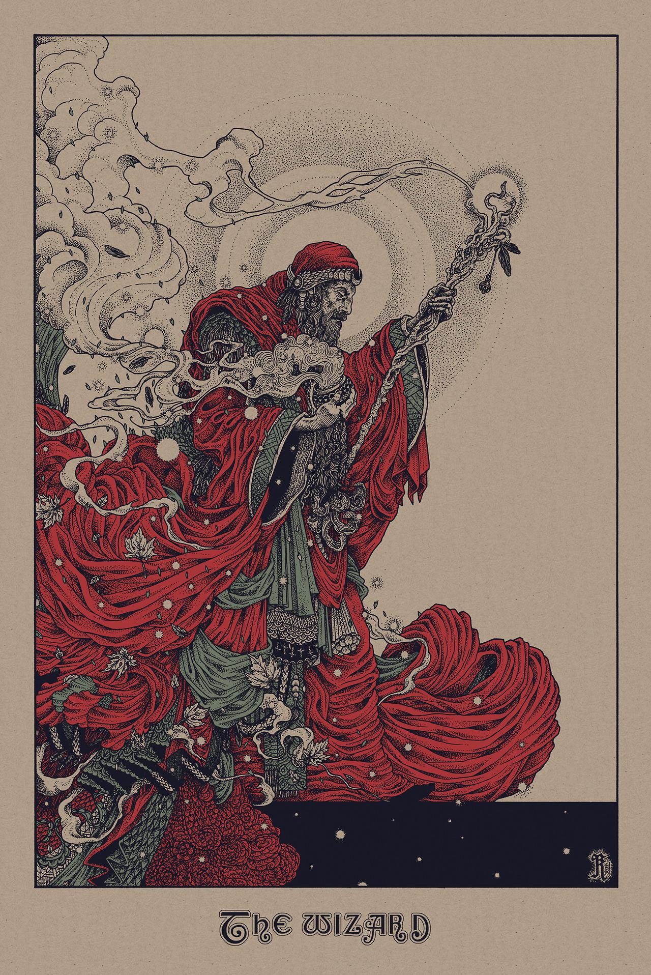 Richey Beckett Poster Beckett The Wizard Variant Large